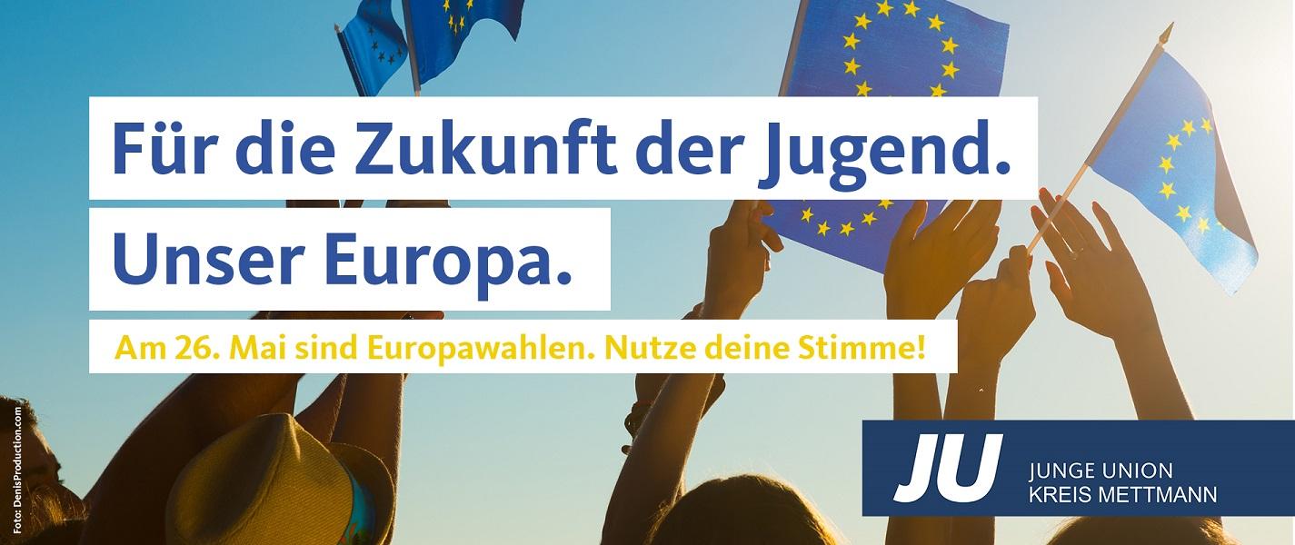 Europawahl 26. Mai!